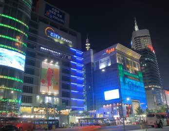 キャッシュレス決済の普及率が高い韓国